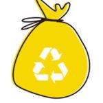 sacco giallo raccolta differenziata