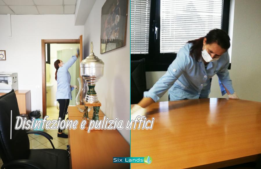 Pulizia degli uffici Milano Provincia coronavirus