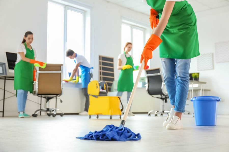 frequenza pulizia ufficio
