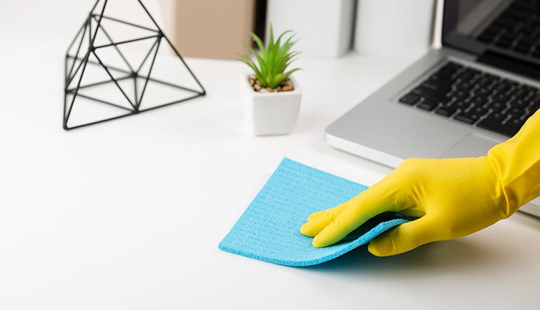 protocollo pulizia uffici